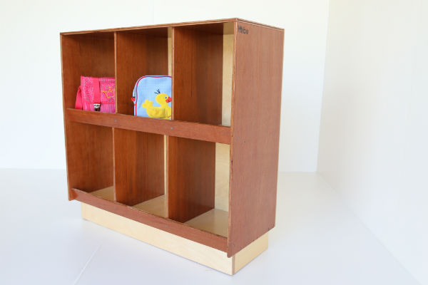 Bag Storage Cubby Hebe Natural Childrens Furniture