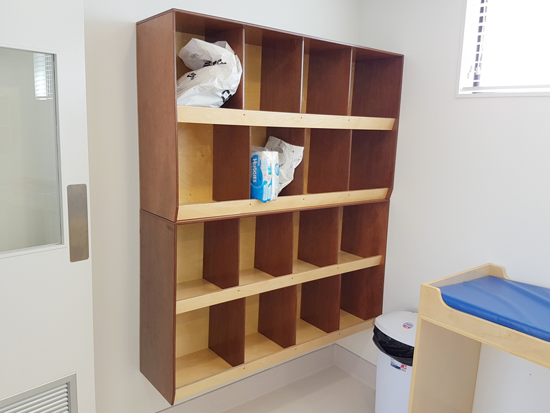 Hebe Custom Bag Storage Cubbies