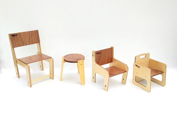 Seating Chairs Stools Hebe Natural Childrens Furniture Wooden NZ WEB