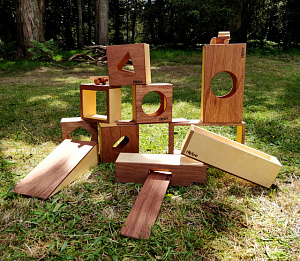 Giant Building Blocks Hebe Natural Childrens Furniture Education NZ