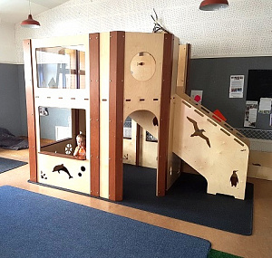 Play Loft Hebe Natural Childrens Furniture Custom Options Available NZ Early Childhood Education WEB