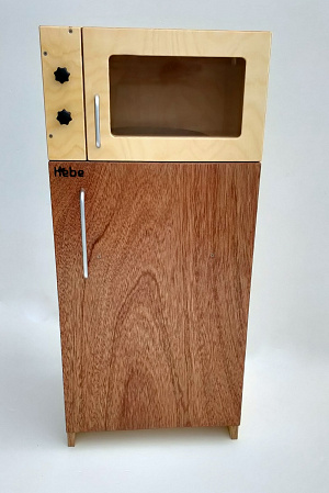 Fridge Microwave Family Play Area Hebe Natural Childrens Furniture Role Play NZ Education Resources