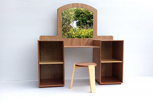 Dressing Table Childrens Family Play Hebe Natural Childrens Furniture NZ