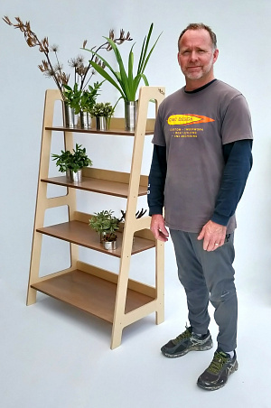 Stepped Shelving Hebe Natural Childrens Furniture Craig